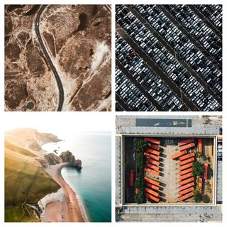 Aerial Photos From The Unsplash Awards image 1