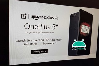 OnePlus 5T to be unveiled on 16 November according to leaked presentation slide