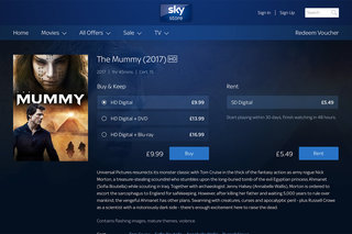Sky Store now offers Blu-rays with digital movie purchases too