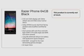 Razer Phone Specs Leaks Out Ahead Of Unveiling Hinting Its For Gamers image 2