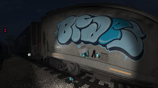 Kingspray Graffiti VR review Vandalising virtual walls and train carriages in style image 3