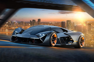 Terzo Millennio is a self-healing EV concept from Lamborghini and MIT