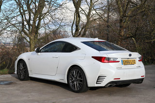 Lexus RC300h review image 3