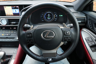 Lexus RC300h review interior image 5