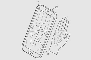 Forget your password No worries just let Samsung scan your palm image 2