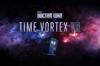 Pilot Doctor Who's Tardis through time and space in Time Vortex VR game