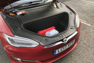 Tesla Model S 100D review interior image 10