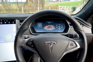 Tesla Model S 100D review interior image 4