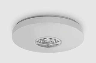 GE made a smart ceiling light that doubles as an Alexa speaker