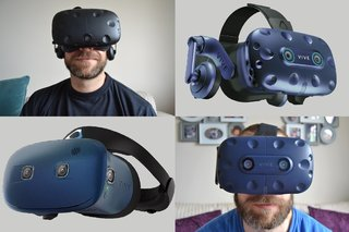 574b31cefd2 Pocket-lint HTC Vive vs HTC Vive Pro vs HTC Vive Pro Eye vs HTC Vive Cosmos