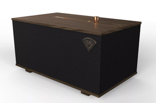 Klipsch Three and One speakers combine old school looks with modern Google Assistant control
