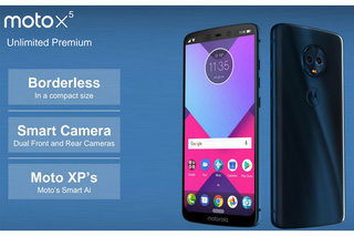 Motorola Moto X5 leaks with dual front and rear cameras