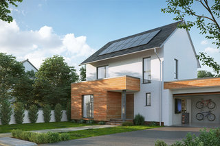 Nissan Energy Solar is an all-in-one solar panel power management system for homes