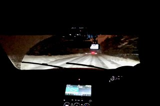 Driving on ice at the JLR Ice Academy on the edge of the arctic circle image 3