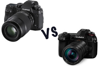 Fujifilm X-H1 vs Panasonic Lumix G9: What's the difference?