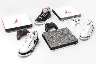 Nike and Xbox made three Air Jordan III Xbox One X consoles, and you can win one
