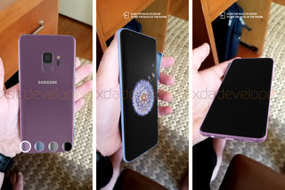 Samsung Galaxy S9 final design revealed in augmented reality image 2