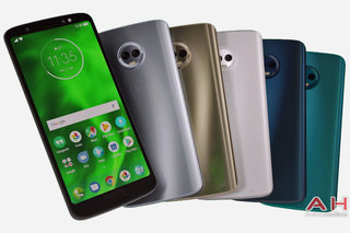 This Moto G6 Plus leak shows the phone in five different colours