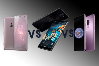 Samsung Galaxy S9 vs Nokia 8 Sirocco vs Sony Xperia XZ2: 2018 flagship face-off!