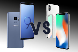 Galaxy S9 vs iPhone X: It's Samsung vs Apple in the clash of the titans