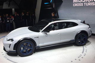 Porsche Mission E Cross Turismo concept is an all-electric Porsche estate