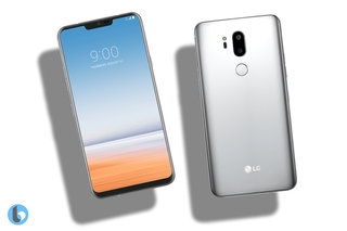 This is the LG G7 and not the iPhone X, honest