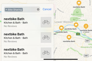 Apple Maps adds local bike share scheme locations