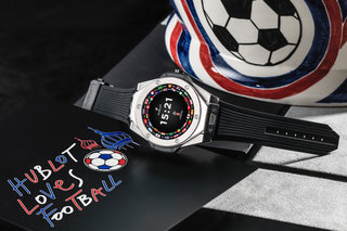 Hublot's first smartwatch has a 2018 World Cup theme and crazy price
