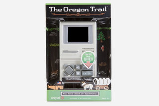 Oregon Trail is a handheld now so you can chuck it when dysentery gets you