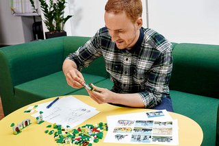 What's it like to design a Lego set? We talk to a Lego designer!