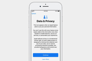 How do Apple's new data and privacy features work across its devices