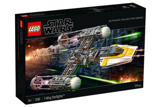 The latest Lego Star Wars set is a superb model of the Y-Wing Starfighter image 2