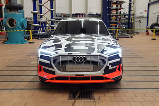 Audi e-tron battery revealed: 400km range, 150kW super-fast charging, but designed for safety first