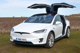 Tesla Model X review lead image 1