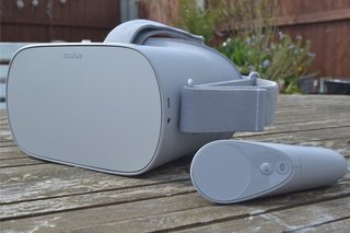 Oculus Go Review in the sun image 1