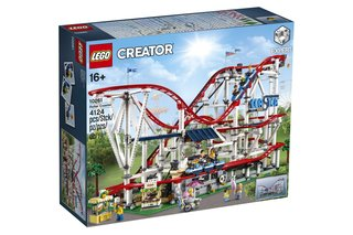 This roller coaster is one of the biggest Lego sets ever - and it can even be powered image 5