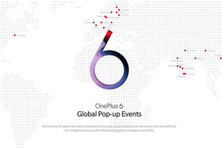 Get the OnePlus 6 before anyone else at exclusive pop-up stores around the world