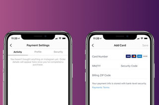 Instagram now lets users natively add credit and debit cards fo