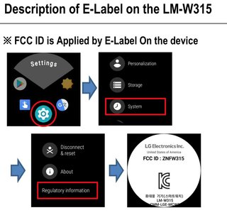 Lg Timepiece Wear Os Hybrid Smartwatch Confirmed By Fcc image 2