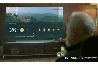 LG's 2018 TVs now support Google Assistant voice control