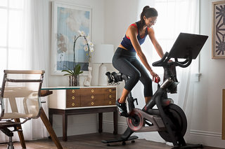 Peleton smart exercise bike coming to the UK, huge screen and live workout classes to follow at home