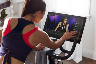 Peloton smart exercise bike coming to the UK huge screen and live workout classes to follow at home image 2