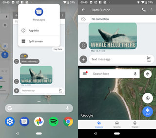How to use the gesture navigation in Android Pie