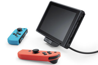 Official Nintendo Charging Stand for Switch can charge your console in tabletop mode