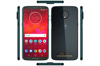 Motorola Moto Z3 Play renders show dual-lens rear camera with a huge bump