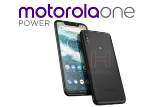 Motorola One Power leaks shows a notch and Android One in force