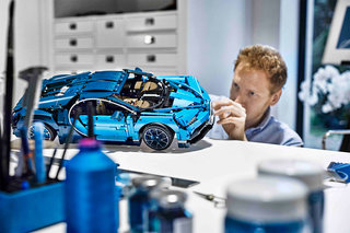 Cant afford a real Bugatti Chiron Build this Lego Technic model instead image 2