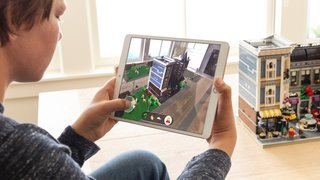Lego Apple ARKit 2 demo showcases next phase of AR interaction, we have a play