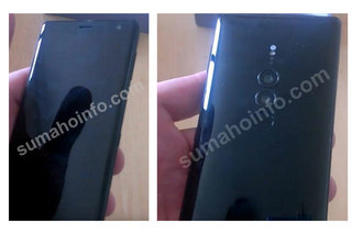 Sony Xperia XZ3 images surface showing dual-lens camera image 2