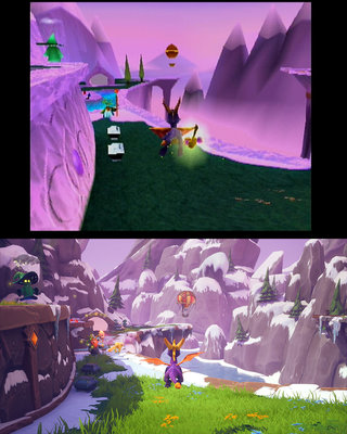 Spyro before and after image 1